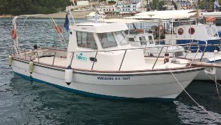 "Thalassa Foundation concedes boat ""Kimolos"" for the protection of the National Marine Park of Alonissos"
